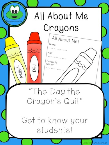 All about me crayons port