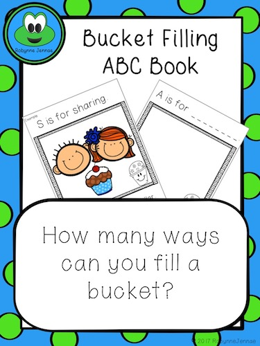 Bucket Filling ABC Book port