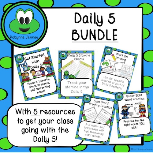 Daily 5 Bundle Cover port