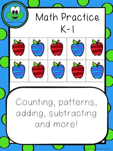 K-1 Math Practice port