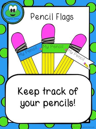 Pencil Flags port