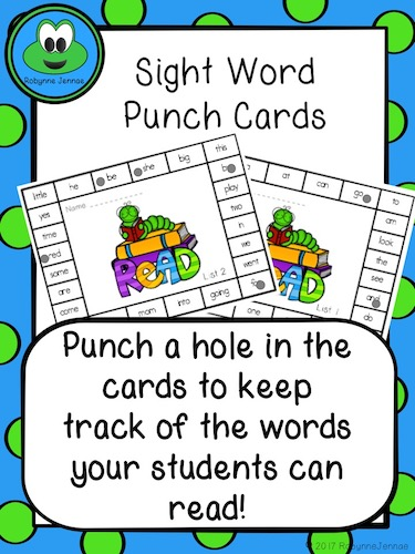 Sight Word Punch port